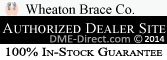 Wheaton Brace Authorized