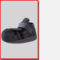 Offloading Shoe & Boot Models for Diabetic Heel and Orthopedic Injuries