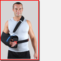 Shoulder Immobilizer Products with Sling or Brace Features