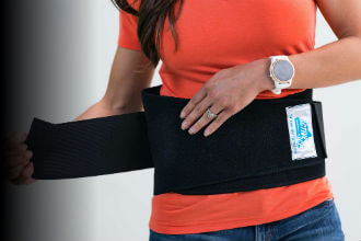 Back Ice Pack & Back Ice Wraps for Lower Back Pain