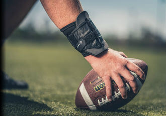 Football Wrist Brace Guards and Football Wrist Wraps