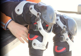 Motocross Knee Braces for Youth & Adults