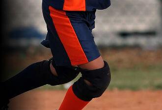 Softball Knee Pads and Sliders