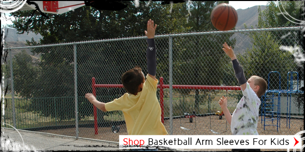 Basketball Arm Sleeves For Kids
