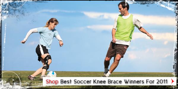 Best Soccer Knee Brace Winners For 2011