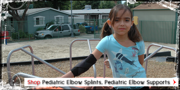 Pediatric Elbow Splints, Pediatric Elbow Supports