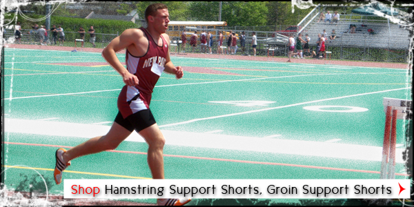 Hamstring Support Shorts, Groin Support Shorts