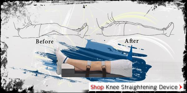 Knee Straightening Device