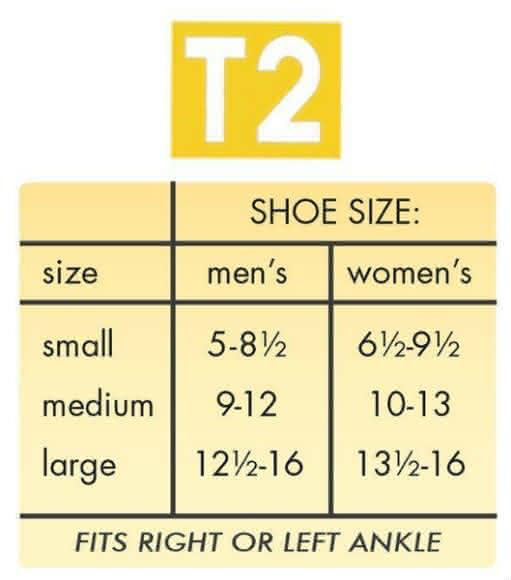 Active Ankle T2 Ankle Brace size