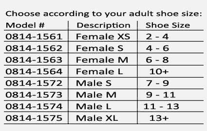 Adjustable Heel Post-Op Shoe