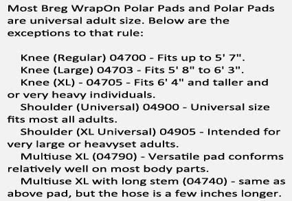 Breg Polar Care 500 Accessories