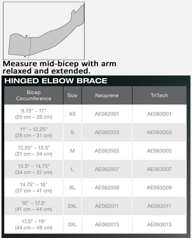 bledsoe hinged elbow brace