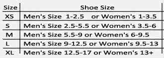 bledsoe lo-top boot size