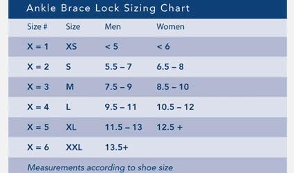 Breg Ankle Brace Lock (ABL) Ankle Brace