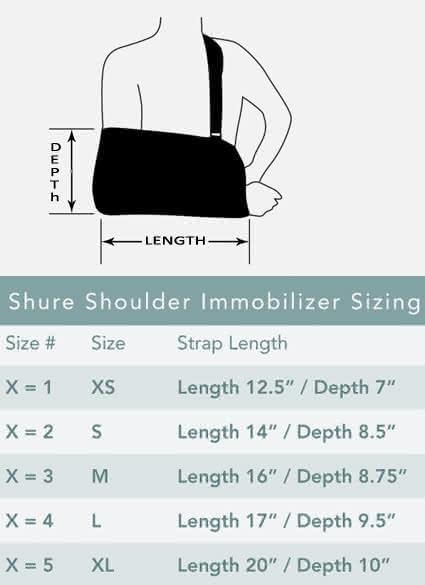 Breg Shure Shoulder Immobilizer