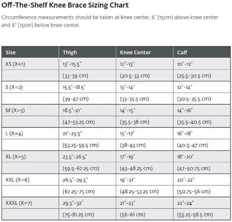 Donjoy OA Adjuster 3 Arthritis Knee Brace