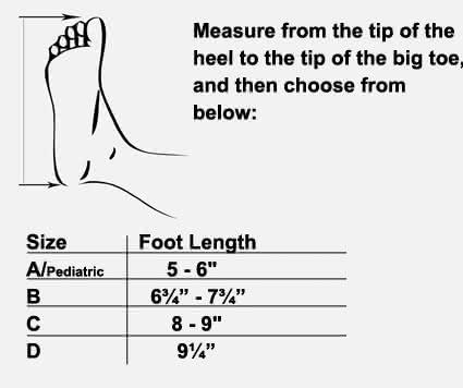 DeRoyal DeROM Dynamic Ankle Splint