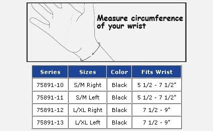"FLA ProLite Airflow 8"" Wrist Brace"