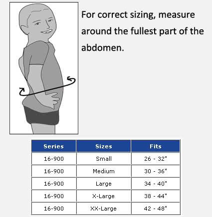 FLA Soft Form Posture Control Brace