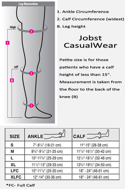 jobst casual wear