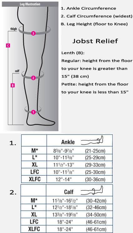 Jobst Relief Knee High