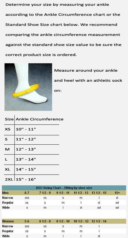 ASO EVO Ankle Brace