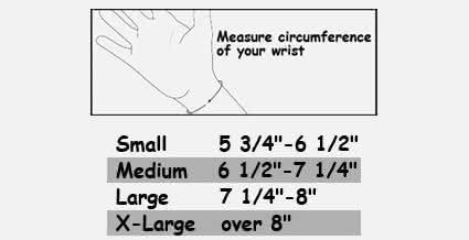 "MedSpec Freehand Wrist 9"""