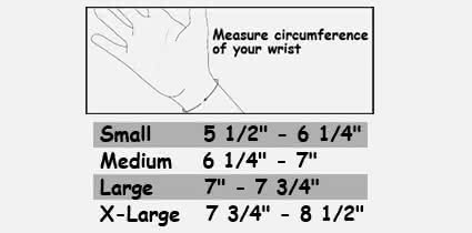 "MedSpec V-Strap Wrist - 10 1/2"""