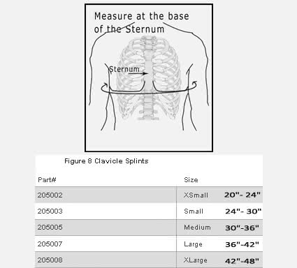 Ossur Figure 8 Clavicle Splint
