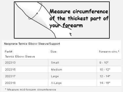Ossur Neoprene Tennis Elbow Sleeve