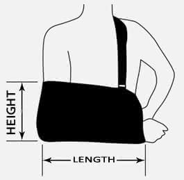 Ovation Medical Arm Sling with Padded Shoulder