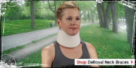 Deroyal neck brace