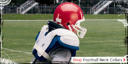 Football neck collar