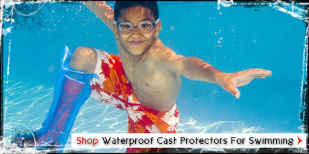 Waterproof Cast Protector For Swimming