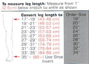 bledsoe original post op knee brace sizing