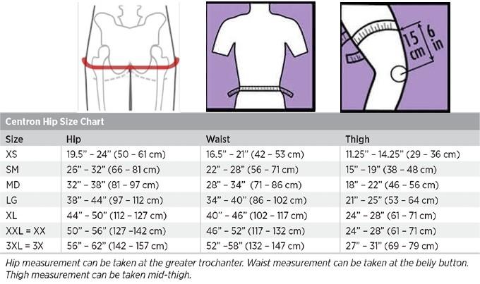 Breg Centron Hip Brace