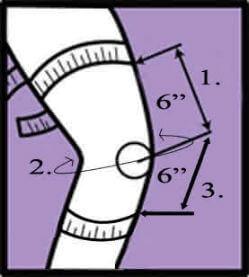 Donjoy Drytex Playmaker Wraparound Knee Brace sizing