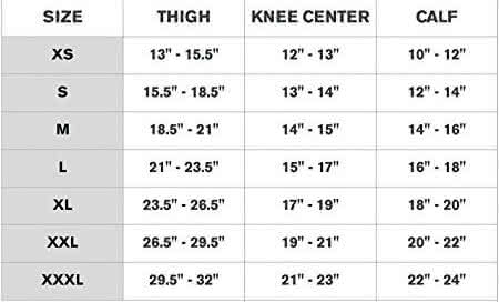 donjoy oa reaction web knee brace sizing