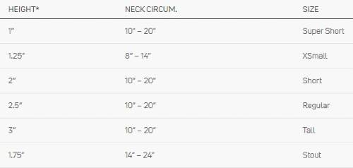 Procare XTEND 174 Cervical Collar sizing