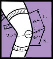 donjoy 4titude knee brace size